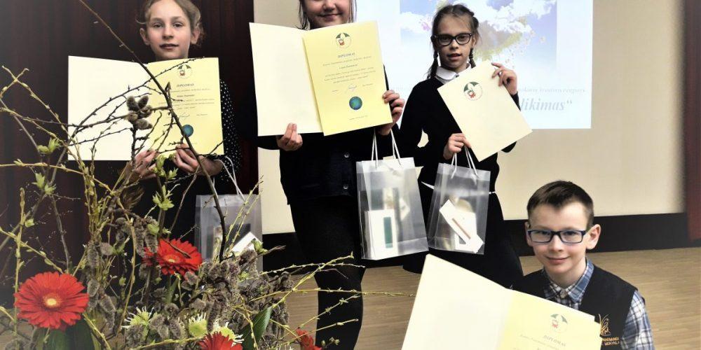 Sveikiname laureatus!